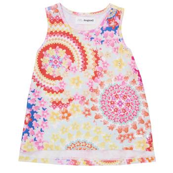 Clothing Girl Tops / Sleeveless T-shirts Desigual 21SGCW02-3146 Multicolour