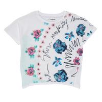 Clothing Girl Short-sleeved t-shirts Desigual 21SGTK02-1000 White