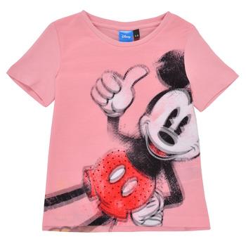 Clothing Girl Short-sleeved t-shirts Desigual 21SGTK43-3013 Pink