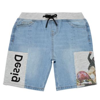 Clothing Boy Shorts / Bermudas Desigual 21SBDD02-5053 Blue