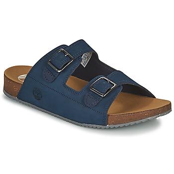 Shoes Children Mules Timberland CASTLE ISLAND SLIDE Blue