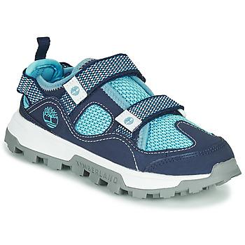 Shoes Children Sandals Timberland TREELINE FISHERMAN Blue