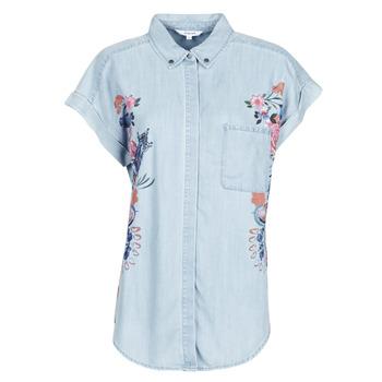 Clothing Women Shirts Desigual SULLIVAN Blue