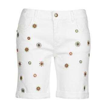 Clothing Women Shorts / Bermudas Desigual GRECIA White