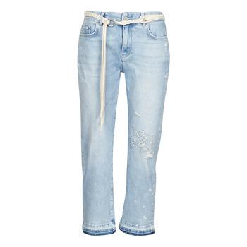 Clothing Women 3/4 & 7/8 jeans Desigual PONDIO Blue