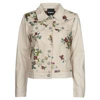 Clothing Women Denim jackets Desigual BRILLIGRIN Pink