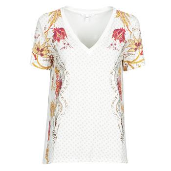 Clothing Women Short-sleeved t-shirts Desigual PRAGA White