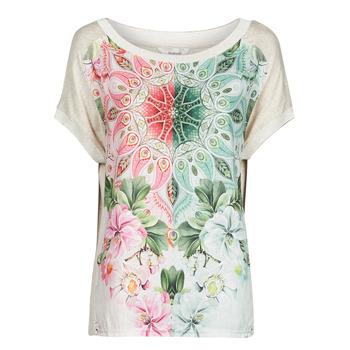 Clothing Women Short-sleeved t-shirts Desigual COPENHAGUE White