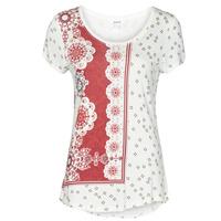 Clothing Women Short-sleeved t-shirts Desigual ESTAMBUL White