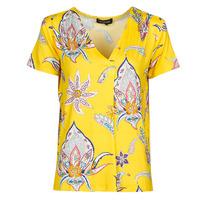 Clothing Women Short-sleeved t-shirts Desigual LEMARK Yellow