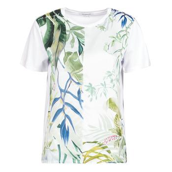 Clothing Women Short-sleeved t-shirts Desigual BUDAPEST White