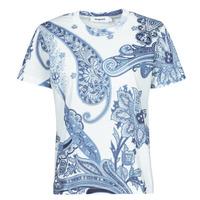 Clothing Women Short-sleeved t-shirts Desigual POPASLEY Blue