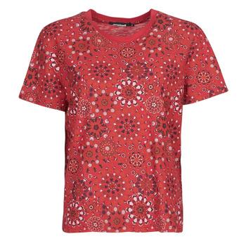 Clothing Women Short-sleeved t-shirts Desigual LYON Red