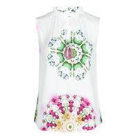 Clothing Women Tops / Sleeveless T-shirts Desigual ROSEN White