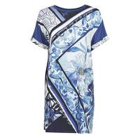 Clothing Women Short Dresses Desigual SOLIMAR Blue