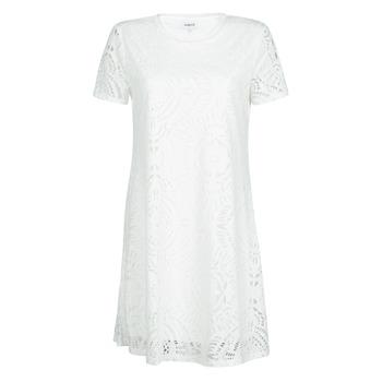 Clothing Women Short Dresses Desigual NILO White
