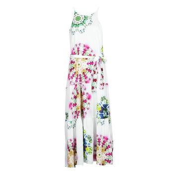Clothing Women Long Dresses Desigual SENA White