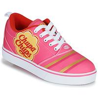 Shoes Girl Wheeled shoes Heelys CHUPA CHUPS PRO 20 Pink / White