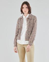 Clothing Women Jackets / Blazers Cream CHANA JACKET Multicolour