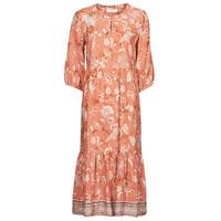 Clothing Women Long Dresses Cream JOHUI DRESS Orange
