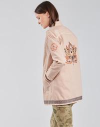 Clothing Women Jackets / Blazers Cream OFELIA JACKET Pink