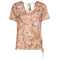 Clothing Women Short-sleeved t-shirts Cream LULLA TSHIRT Multicoloured
