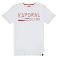 Clothing Boy Short-sleeved t-shirts Kaporal EZIO White