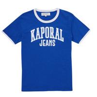 Clothing Boy Short-sleeved t-shirts Kaporal METRO Blue