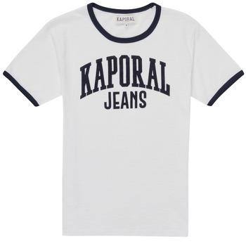 Clothing Boy Short-sleeved t-shirts Kaporal METRO White
