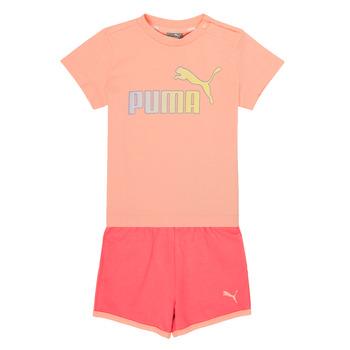 Clothing Girl Sets & Outfits Puma BB SET ABRI Pink