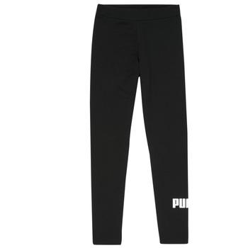 Clothing Girl Leggings Puma ESS LEGGING Black