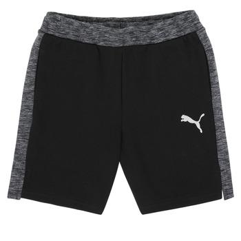 Clothing Boy Shorts / Bermudas Puma EVOSTRIPE SHORTS Black