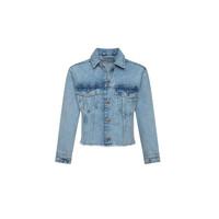 Clothing Girl Denim jackets Pepe jeans NICOLE JACKET Blue