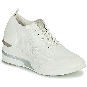 Shoes Women Hi top trainers Mustang THALIA White