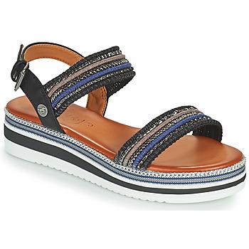 Shoes Women Sandals Mustang NORMA Black