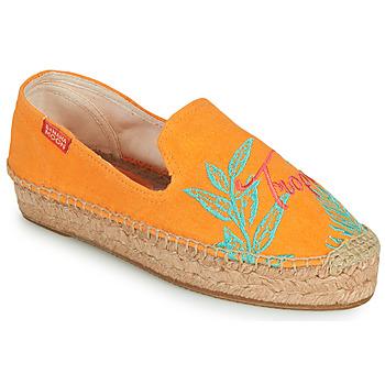 Shoes Women Espadrilles Banana Moon VERAO Orange