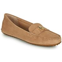 Shoes Women Loafers Lauren Ralph Lauren BARNSBURY FLATS CASUAL Beige