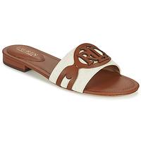 Shoes Women Mules Lauren Ralph Lauren ALEGRA Cognac / Beige