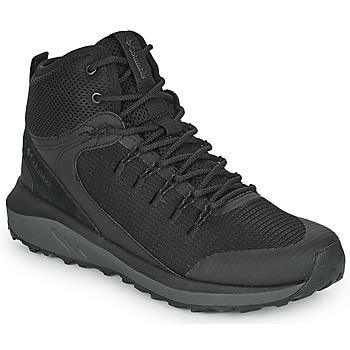 Shoes Men Walking shoes Columbia TRAILSTORM MID WATERPROOF Black