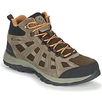 Shoes Men Walking shoes Columbia REDMOND III MID WATERPROOF Brown