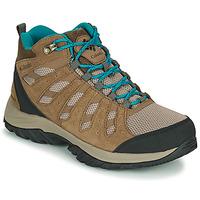 Shoes Women Walking shoes Columbia REDMOND III MID WATERPROOF Beige