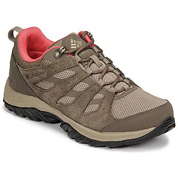 Shoes Women Walking shoes Columbia REDMOND III WATERPROOF Brown