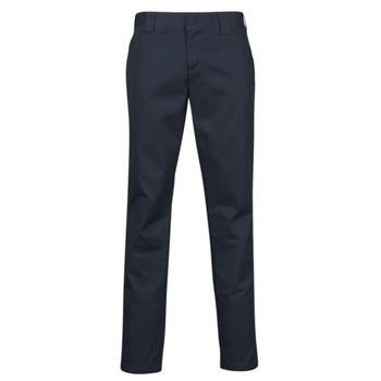 Clothing Men 5-pocket trousers Dickies SLIM FIT WORK PNT Marine