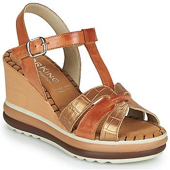 Shoes Women Sandals Dorking TOTEM Brown