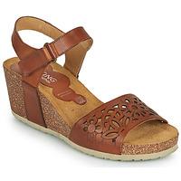 Shoes Women Sandals Dorking PALMA Brown