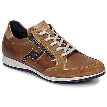 Shoes Men Low top trainers Fluchos 0207-AFELPADO-CAMEL Brown