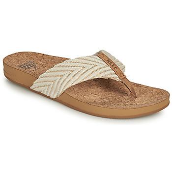 Shoes Women Flip flops Reef REEF CUSHION STRAND White