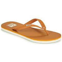 Shoes Men Flip flops Reef REEF SEASIDE Mustard
