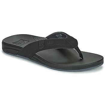 Shoes Men Flip flops Reef CUSHION SPRING Black