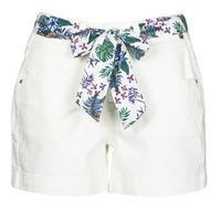 Clothing Women Shorts / Bermudas Freeman T.Porter GINGER MUZEY Snow / White